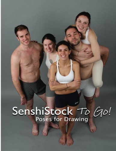 SenshiStock To Go: Poses for Drawing Reference