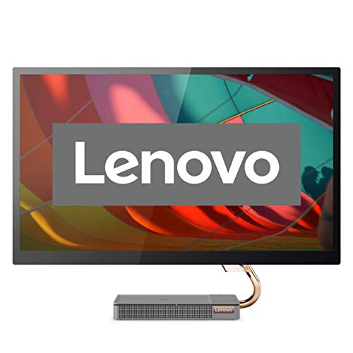 Lenovo IdeaCentre AIO 5i A340 68,58 cm (27 pollici, 2560 x 1440, QHD, opaco), All-in-One Desktop (Intel Core i5-10400T, 8 GB RAM, 512 GB SSD, grafica Intel UHD, Windows 10 Home), grigio
