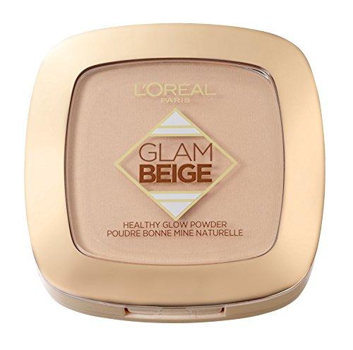 L'Oréal Paris Glam Beige Cipria Matte, Effetto Naturale, 20 Light