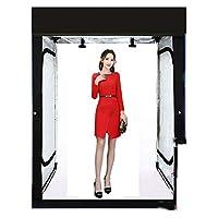 ビッグサイズ 撮影ブース 撮影セット 撮影ボックス2M 2色スクリーン付 大型 撮影キット 写真スタジオ フォトスタジオ