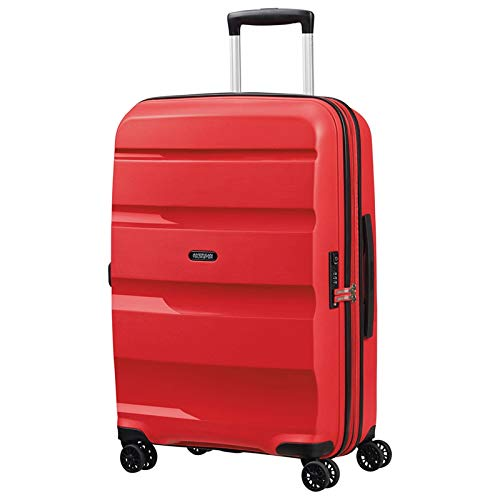 American Tourister Bon Air DLX Valigia trolley (4 ruote) rosso 66 cm
