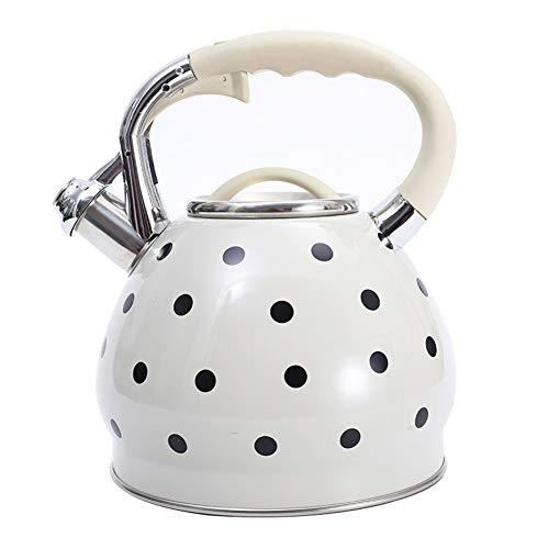 Bollitore Acqua Stove Top in acciaio inox teiera con la maniglia molle Grip anti-calda for uso domestico Commerciale Restauran Size : 1.5L