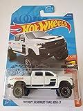 Hot Wheels 2020 Hw Hot Trucks '19 Chevy Silverado Trail Boss LT, White 151/250