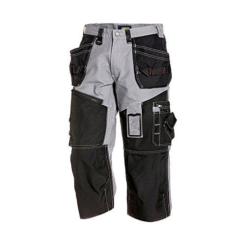 Blåkläder 15011310 Piraten Shorts X1500, Grau / Schwarz, C44