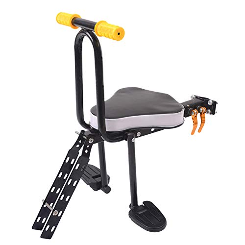 Review AIBAB Bicycle Child Seat Children's Bicycle Accessories Front Seat Foldable Child Safety Seat
