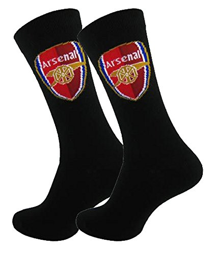Official Football Merchandise - Chaussettes basses - Homme Noir Arsenal