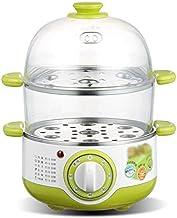 ECSWP ZHGUOCFYJ Multifonctionnel électrique Chaudière Egg Cooker Steamer Mini Double en Acier Inoxydable électrique à Vapeur