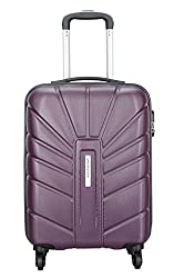 Aristocrat Polycarbonate 55 Cms Purple Hardsided Cabin Luggage (Sunrise),Vip Industries Ltd,Sunrise