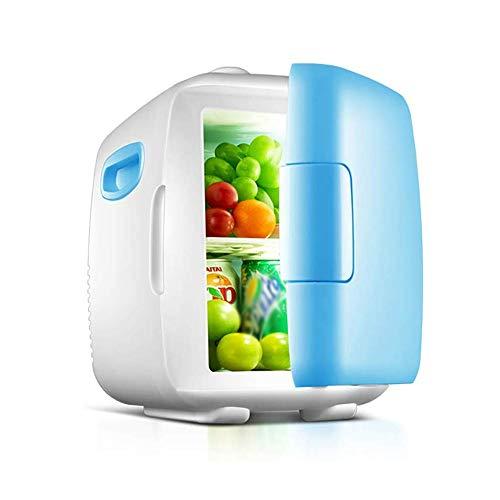 LJJOO 8 litros portátil Compacto Insulation Gabinete Mini refrigerador for el Dormitorio, Oficina, Dormitorio, Car-Grande for el Cuidado de la Piel y cosméticos Frigoríficos Mini