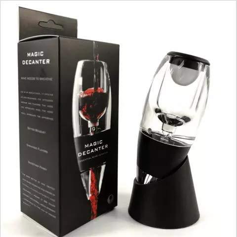 Aireador de Vino con Base.decantador de Vino con Base.Ideal para Todo Tipo de vinos,Ideal para Regalar,Utensilios para el Vino