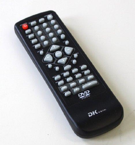 Fernbedienung von DK-DIGITAL DVD-536, DVD-538 für DVD Player