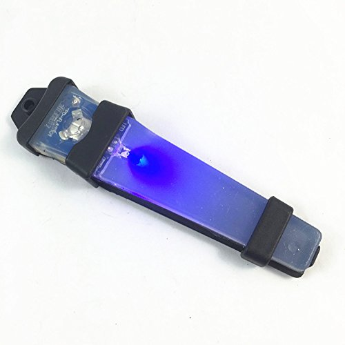 Marque FLASHLIGHT New Tactical CASQUE LED SÉCURITÉ corps noir LED bleu