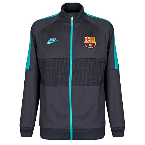Nike FCB M Nk I96 Jkt Cl, Giacca Uomo, Grigio (Dk Smoke Grey/Dk Smoke Grey/Cabana), XL