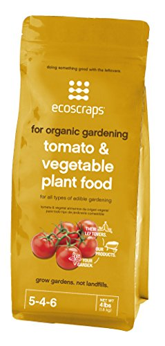Organic Gardening Tomato & Vegetable Plant Food by EcoScraps