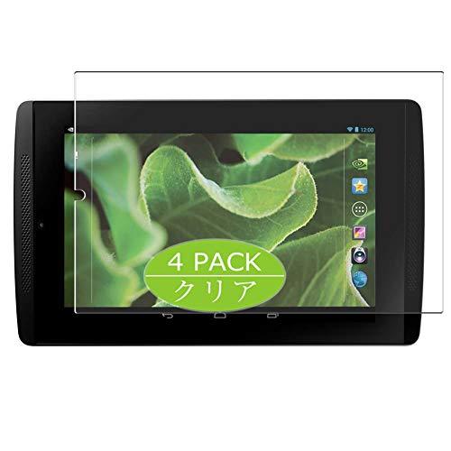 Vaxson 4 Stück Schutzfolie kompatibel mit ZOTAC NVIDIA Tegra Note 7 7