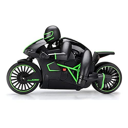 Mini Motocicleta RC Elegante con Modelo de Motocicleta RC de Alta Velocidad...