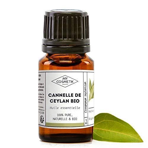 Aceite esencial de canela de Ceilán orgánico - MyCosmetik - 10 ml