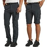 CARETOO Pantalon de trekking pour homme - Pantalon de randonnée - Pantalon softshell - Imperméable...