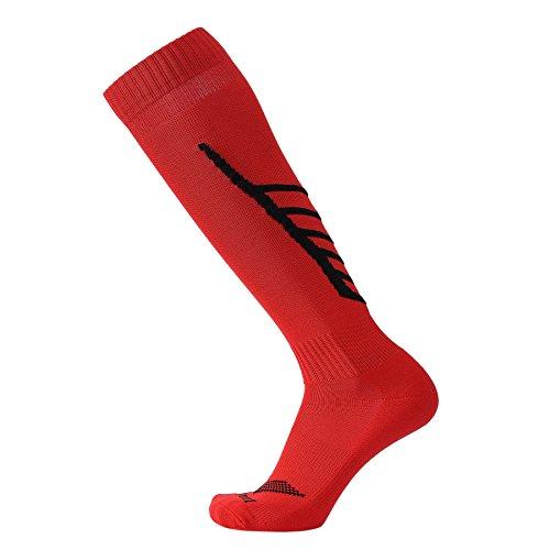Laulax Coolmax Fußball-Socken in 10Designs, Gr. 41–46 Größe L Red Arrow