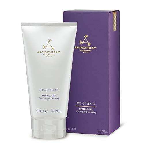 Aromatherapy Associates De-Stress Muscle Gel 5.07oz. Cools inflamed muscles before imparting a deep, comforting warmth infused with Black Pepper and warming Ginger essential oils.