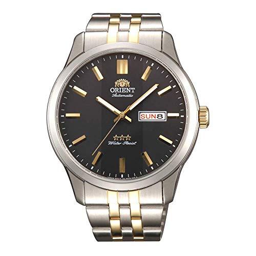 Orient Reloj Analógico para Hombre de Automático con Correa en Acero Inoxidable RA-AB0011B19B