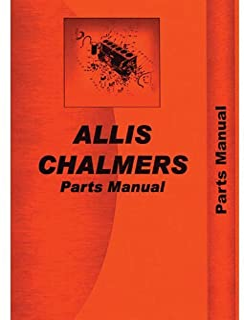 Parts Manual - 170 175 Allis Chalmers 175 175 170 170
