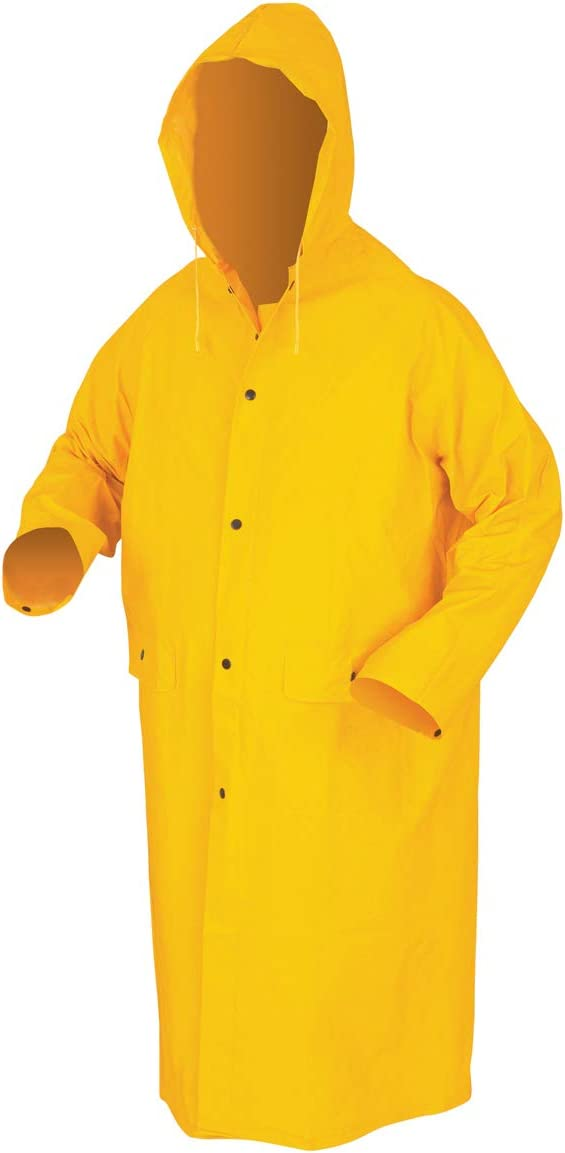 MCR Safety 200CM 49-Inch Classic with Detacha Polyester Coat Direct sale of manufacturer Kansas City Mall PVC