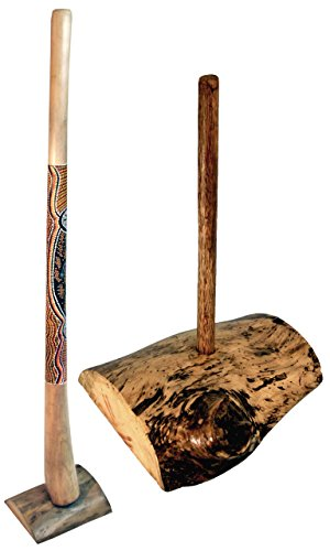 Didgeridoo made of root wood for 1 Didgeridoo, Particularly suitable for large Didgeridoos