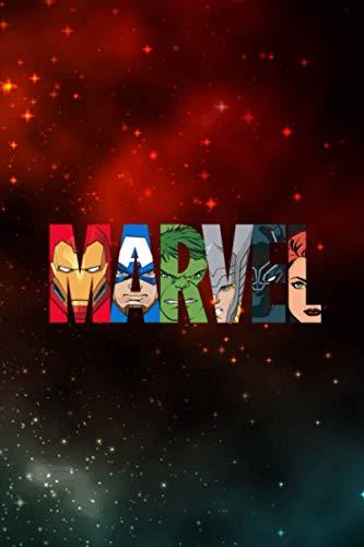 Marvel Logo Avengers Super Heroes 1 Vitamin & Supplements Tracker