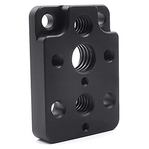 Kedelak Compatible con dji RSC 2 Placa adaptadora de expansión de Orificio de Tornillo de aleación de Aluminio de 1/4