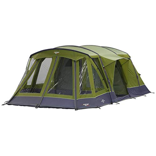 Vango Icarus Air 500 Vista 5-Person Tent, Green, One Size