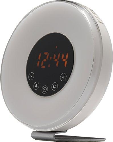 Denver 15220730 Clockradio CRL-340 mit integrierten Wecklicht Weiß
