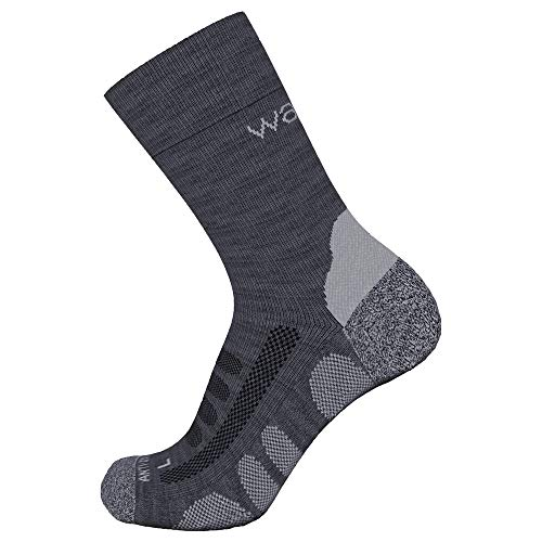 Wapiti Kinder ZSK06 Socke, anthrazit, 31-34