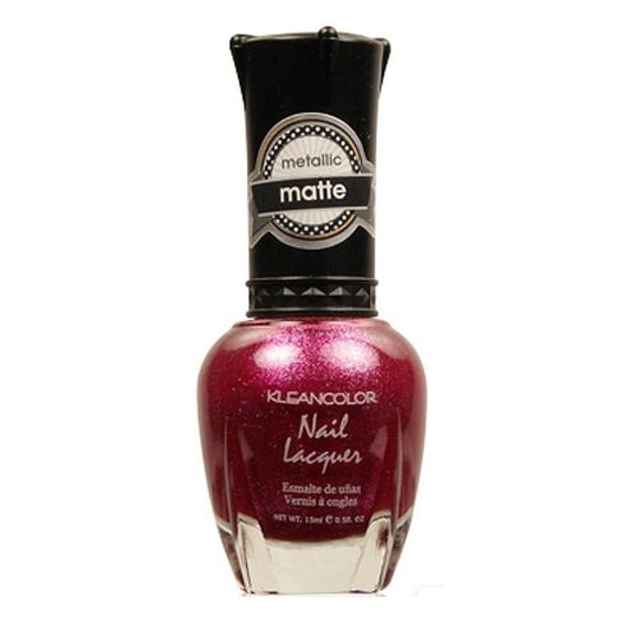 大通りビート簡潔な(3 Pack) KLEANCOLOR Matte Nail Lacquer - Cast a Love Spell (並行輸入品)