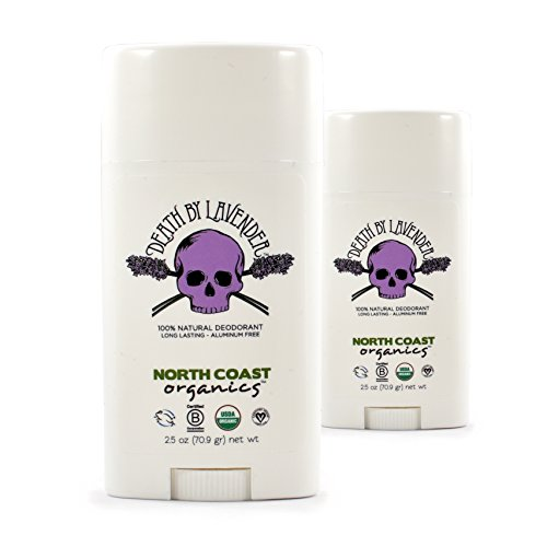 More buying choices for North Coast Organics All Natural Deodorant: Death by Lavender 2.5oz - Aluminum, Paraben, Sulfate, Cruelty, and GMO FREE - 2 Pack