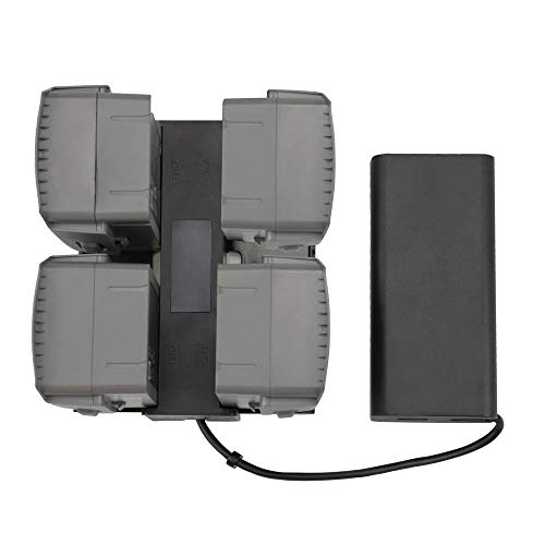 PENIVO Mavic 2 Battery Charging Hub, 4 in 1 Intelligent Multi Akkus Ladegerät für DJI Mavic 2 Zoom/Pro Drone Quadcopter Netzteile Zubehör