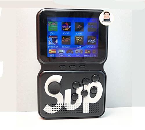 2ª Geração - Mini Vídeo Game Portátil de Mão 900 Jogos Game Box Power M3 - Preto