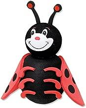 Tenna Tops Cute Ladybug Car Antenna Topper / Antenna Ball / Mirror Dangler / Desktop Spring Stand (Auto Accessory)