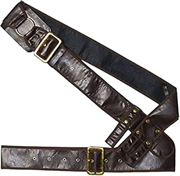 AMSCAN Pirate Bandolier Belt Halloween Costume Accessory for Adults One Size