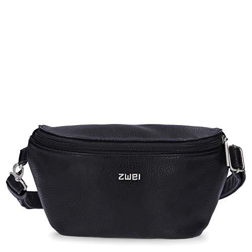 zwei Mademoiselle MH4 Hip Bag Gürteltasche 25 cm Black
