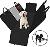 Dog Car Seat Cover, Large Back Pet Car Seat Protectors with Mesh Viewing