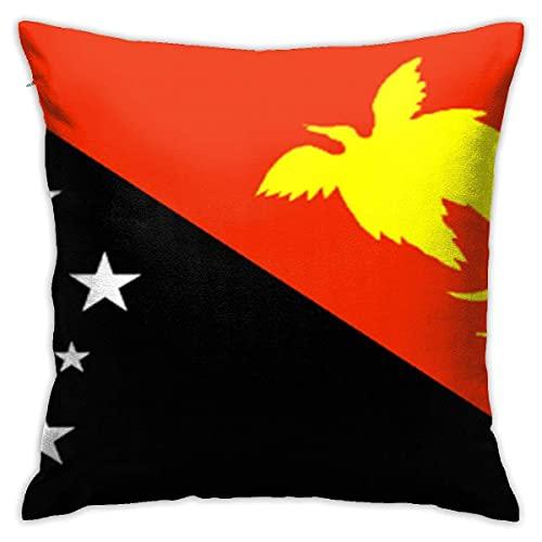 Papua Neuguinea-Flagge Fashion Kissenbezüge Dekorative Kissenhülle