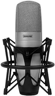 میکروفون استودیو کندانسور Cardioid تک دیافراگم برجسته Shure KSM32 / SL برجسته ، شامپاین