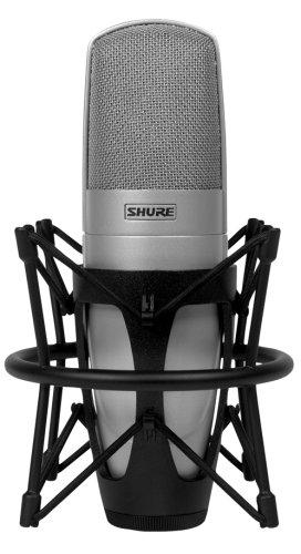 Shure KSM32/SL Embossed Single-Diaphragm Cardioid Condenser Studio Microphone,...