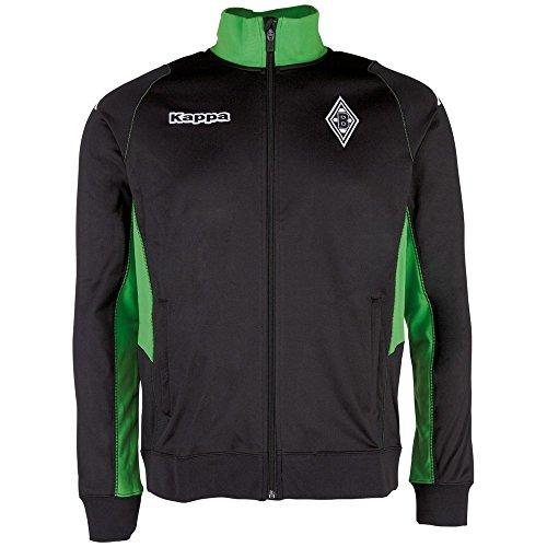 Kappa Herren Borussia Mönchengladbach Trainings-Sweatjacke Sweatshirt, 005 Black, M