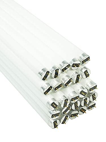 25 lampade fluorescenti a tubo, 36 W, 120 cm, luce bianca neutra, tubo neon T8