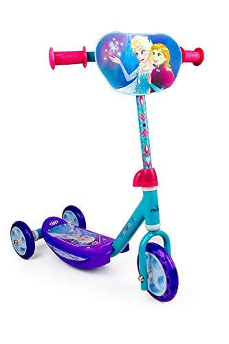 Disney Frozen DARP-OFRO110 Frozen Tri-Scooter con manubrio regolabile,...