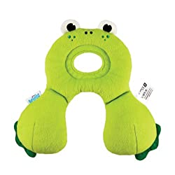 Made from breathable fabric so tots can sleep soundly and parents can relax safe in the knowledge that their child is dozing safely Machine washable EN71 Approved The pillow keeps the tots head in a neutural position whilst travelling Reversible for ...