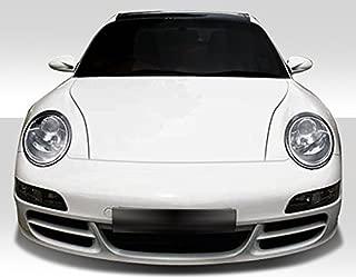 Extreme Dimensions Duraflex Replacement for 1999-2004 Porsche 911 Carrera 996 1997-2004 Porsche Boxster 997 Carrera Conversion Front Bumper Cover - 1 Piece