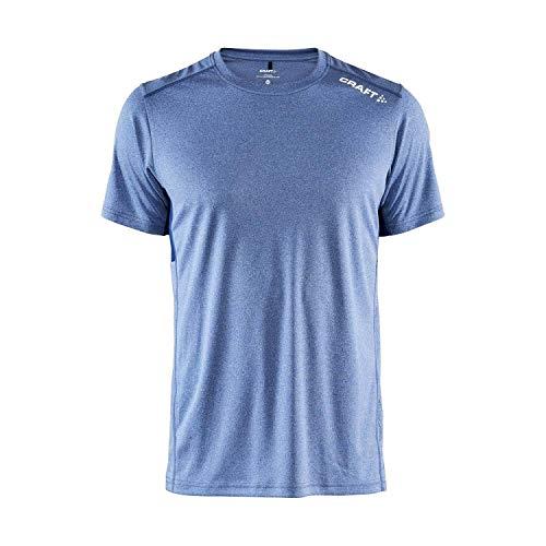 Craft Herren T-Shirt Rush SS Tee 1907361 Deep Melange L